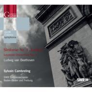 Symphony No,  3,  Leonore Overture No,  1,  : Cambreling  /  SWR Symphony Orchestra