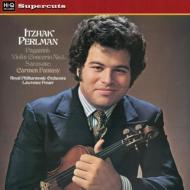ヴァイオリン協奏曲第1番(パガニーニ) 他:パールマン、フォスター指揮&ロイヤル・フィルハーモニー管弦楽団 (180グラム重量盤レコード/Hi-Q Records Supercuts)
