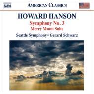 交響曲第3番、『メリー・マウント』組曲 シュウォーツ&シアトル交響楽団