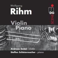 ヴァイオリンとピアノのための作品集 A.ザイデル、シュライヤーマッハー