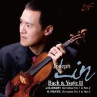 バッハ:無伴奏ヴァイオリン・ソナタ第1番、第3番、イザイ:無伴奏ヴァイオリン・ソナタ第1番、第5番 ジョセフ・リン(シングルレイヤー)