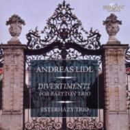 リドル、アンドレアス(1740-1789)/Divertimentos For Baryton Trio: Esterhazy Trio