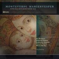 モンテヴェルディ(1567-1643)/Vespro Della Beata Vergine: Breiding / Musica Alta Ripa Concerto Palatino Vox We
