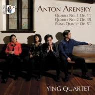 String Quartet, 1, 2, Piano Quintet: Ying Q Neiman(P)