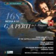 ペルティ:12声のミサ曲、コロンナ:ラウダーテ・ドミヌム ヴァンネッリ&カッペッラ・ムジカーレ・ディ・サン・ペトローニオ、他