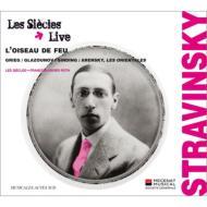 ストラヴィンスキー:『火の鳥』全曲、グラズノフ:『ライモンダ』より、他 ロト&レ・シエクル