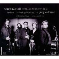 ブラームス:クラリネット五重奏曲、グリーグ:弦楽四重奏曲 ヴィトマン、ハーゲン四重奏団