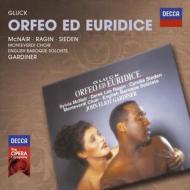 『オルフェオとエウリディーチェ』全曲 ガーディナー&イングリッシュ・バロック・ソロイスツ、マクネアー、レイギン、シーデン(1991 ステレオ)(2CD)
