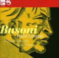 ヴァイオリン・ソナタ第1番、第2番 フォンタネッラ、サリナーロ