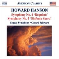 交響曲第4番『レクィエム』、第5番、クーセヴィツキーの思い出によるエレジー、他 シュウォーツ&シアトル響