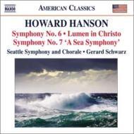 交響曲第6番、第7番『海の交響曲』、キリストの光 シュウォーツ&シアトル交響楽団