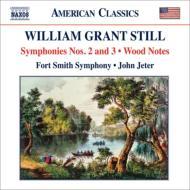 交響曲第2番、第3番、森の調べ ジーター&フォートスミス交響楽団