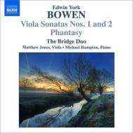 ヴィオラ・ソナタ第1番、第2番、幻想曲 ブリッジ・デュオ