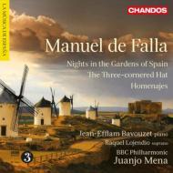 『三角帽子』、『スペインの庭の夜』、『讃歌』 メナ&BBCフィル、バヴゼ、ロヘンディオ