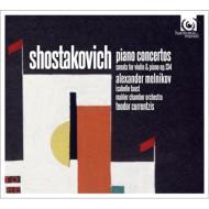 ピアノ協奏曲第1番、第2番、ヴァイオリン・ソナタ メルニコフ、I.ファウスト、クルレンツィス&マーラー・チェンバー・オーケストラ