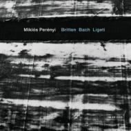 Miklos Perenyi: Plays Britten, J.s.bach, Ligeti: Cello Solo Works