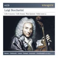 チェロ協奏曲、チェロ・ソナタ、フルート五重奏曲、スターバト・マーテル、他 ビルスマ、他(4CD)
