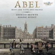 フルートと弦楽のための作品集 ジョージア・ブラウン、ノルディック・アフェクト