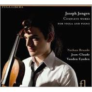 Comp.works For Viola & Piano: Braude(Va)Vanden Eynden(P)