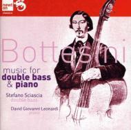 Works For Contrabass & Piano: Sciascia(Cb)Leonardi(P)