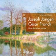ジョンゲン:13の前奏曲、フランク:『前奏曲、フーガと変奏曲』、『前奏曲、コラールとフーガ』 リケリンク