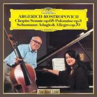 Cello Sonata, Etc: Rostropovich(Vc)Argerich(P)+schumann