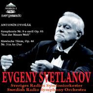 Symphony No.9, Slavonic Dance No.3 : Svetlanov / Swedish Radio Symphony Orchestra (1983)