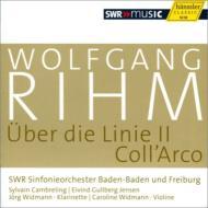 『線について』、『弓で』 J.ヴィトマン、C.ヴィトマン、カンブルラン&南西ドイツ放送交響楽団、他