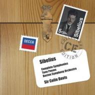 交響曲全集、管弦楽曲集、ヴァイオリン協奏曲 C.デイヴィス&ボストン響、アッカルド、ロンドン響(5CD)
