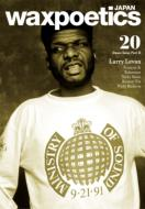 waxpoetics JAPAN No.20 (表紙: Larry Levan)