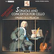 Cello Sonatas, Concertos: Testori(Vc)I Musici Di Santa Pelagia