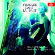 『夜のシャンソン〜ヴィオラとハープによる小品集』 ホスプロヴァー、エングリホヴァー