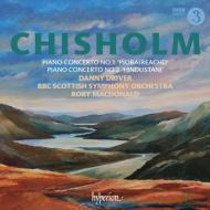 ピアノ協奏曲第1番『ピーブロック』、第2番『ヒンドゥスタニ』 ドライヴァー、R.マクドナルド&BBCスコティッシュ響