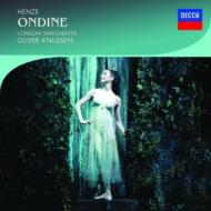『オンディーヌ』全曲 ナッセン&ロンドン・シンフォニエッタ、ドノホー(2CD)