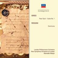 グリーグ:『ペール・ギュント』第1組曲、ロッシーニ:序曲集 K.オルウィン&ロンドン・フィル、ロンドン新響