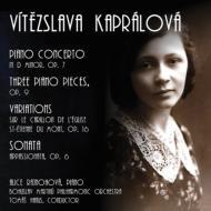 ピアノ協奏曲、ソナタ・アパッショナータ、他 ライノホヴァー、ハヌス&マルチヌー・フィル