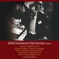Tchaikovsky Symphony.No.4, Dvorak Symphony No.9, Rimsky-Korsakov, Alfven, Enescu : Silvestri / NHK Symphony Orchestra (1964)(2CD)