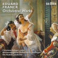 序曲『ローマの謝肉祭』、コンツェルトシュテュック、幻想曲、他 ルードナー&ヴュルテンベルク・フィル、エディンガー