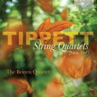 弦楽四重奏曲第1番、第2番、第3番、第4番 ブリテン四重奏団(2CD)