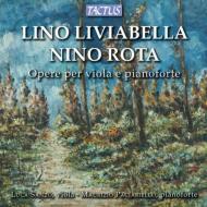 ロータ:ヴィオラ・ソナタ集、リヴィアベッラ:ヴィオラ・ソナタ第1番、第2番、他 サンツォ、パチャリエッロ