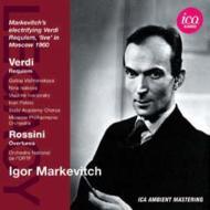 ヴェルディ:レクィエム(モスクワ・フィル、1960)、ロッシーニ:序曲集(フランス国立放送管、1957) マルケヴィチ(2CD)