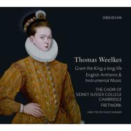 ウィールクス作品集 フレットワーク、スキナー&ケンブリッジ・シドニー・サセックス大学合唱団