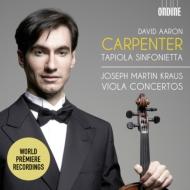 ヴィオラ協奏曲集、ヴィオラとチェロのための協奏曲 デイヴィッド・アーロン・カーペンター、リッタ・ペソラ、タピオラ・シンフォニエッタ