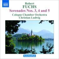セレナード第3番、第4番、第5番 クリスティアン・ルートヴィヒ&ケルン室内管弦楽団
