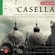 管弦楽のための協奏曲、深夜にて、『蛇女』からの交響的断章 ノセダ&BBCフィル、ロスコー