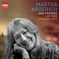 Lugano 2011 : Argerich, R &amp; G.Capucon, Tiempo, Kaspszyk / Svizzera Italiana Orchestra, etc (3CD)