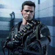 Movie Masterpiece DX 1/6 Figure: Terminator 2 T-800