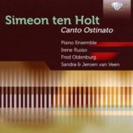 カント・オスティナート(4台ピアノ版) ピアノ・アンサンブル(2CD)
