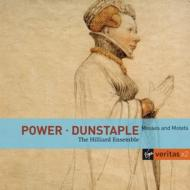 ダンスタブル:ミサ曲とモテット集、パワー:ミサ曲とモテット集 ヒリヤード・アンサンブル(2CD)