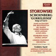 グレの歌(ロンドン響、マックラッケン、他 1961ライヴ)、浄夜(ヒズ・シンフォニー・オーケストラ 1952) ストコフスキー(2CD)